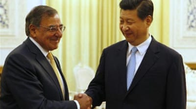 Panetta holds talks with China's Xi