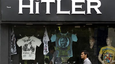 'Hitler' shop sends India shockwave