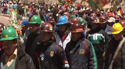 No end in sight to Bolivia mine unrest