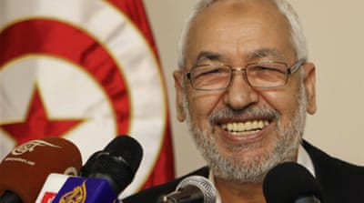 "Deep down, Ghannouchi is not a ""political animal"", in the Greek sense; ""politics for him is the art of managing public affairs"" by maximising conditions of freedom and justice [EPA]"