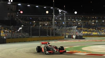 Formula One plans for Greece cause outcry