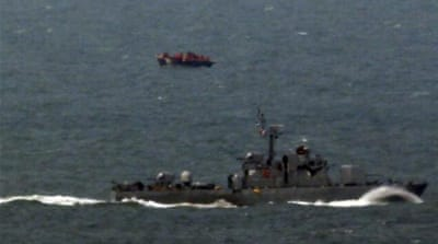 The incident was the latest in a series of incursions by North Korean fishing vessels in recent weeks [Reuters]