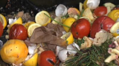 US farmers turn food waste into fertiliser