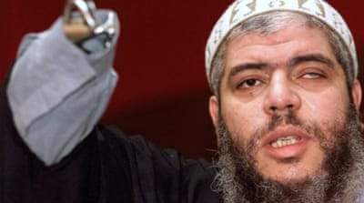 Abu Hamza is accused of planning to set up an al-Qaeda-style training camp in the US state of Oregon [File: Reuters]