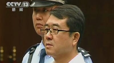 Former police chief jailed over China scandal