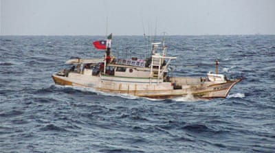 Taiwanese boats enter disputed island waters