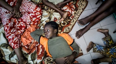 In pictures: The displaced in Mali