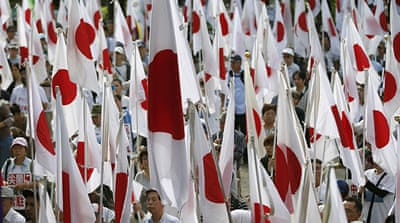 Japan vows no compromise on islands row