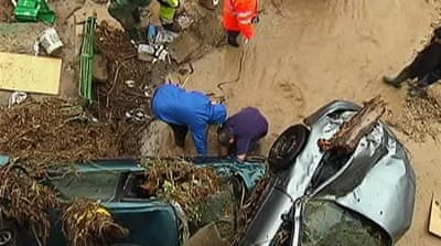 Deadly flash floods hit southern Spain