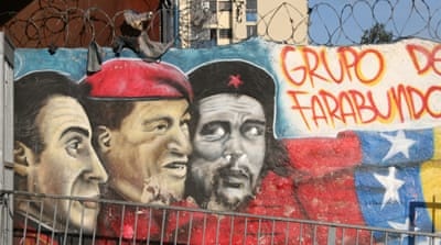 In Pictures: Venezuela's political graffiti