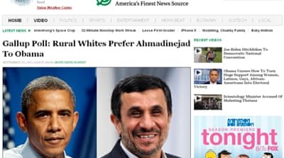 Iran news agency says sorry for spoof article