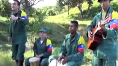 FARC rebels release music video