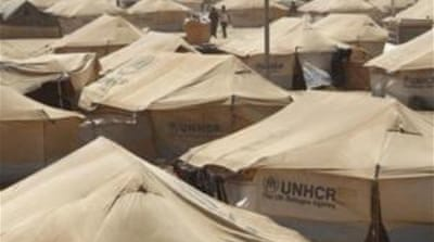 'Record numbers' of refugees fleeing Syria