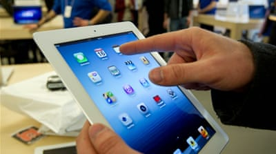 The incident raises question over why the FBI had held the details of consumers of Apple products [AP]