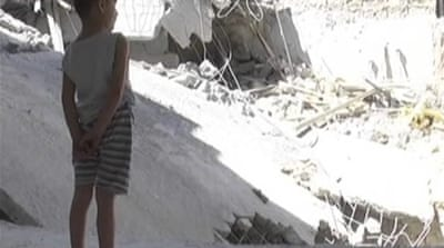 Families remain victims of Syria bombardments
