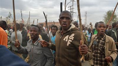 In pictures: Marikana miners