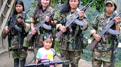 File photo: FARC included thousands of minors, who faced death if they tried to leave [Al Jazeera]