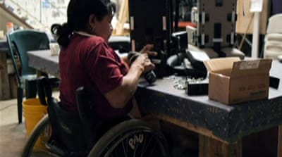 Wheelchair factory empowers Guatemalans