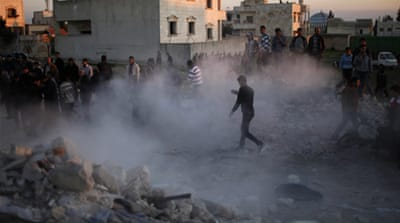 Regime forces in Aleppo shelled rebel-held areas and clashed with opposition fighters in several towns  [Reuters]