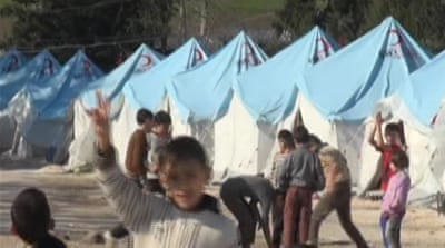 More than four million Syrians have been internally displaced by the conflict since March 2011