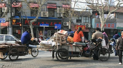 Income inequality on the rise in China