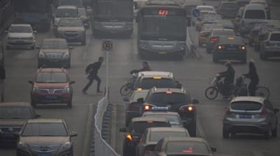 Exposing the 'hazardous' pollution of Beijing