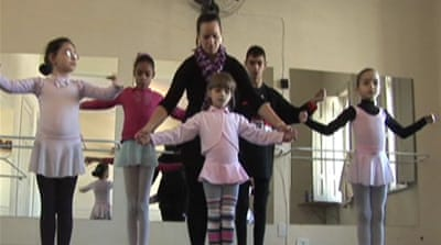 Brazil academy opens eyes to blind ballet