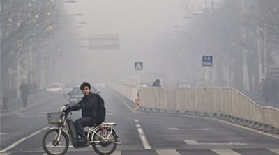 Beijing pollution 'worst on record'