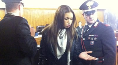'Ruby' steals show at Berlusconi sex trial