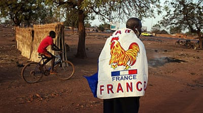 What is France risking in Mali?