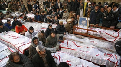 When families refused to bury their dead in protest, similar sit-ins were held around the world in solidarity [Reuters]