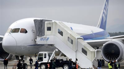US grounds Dreamliner fleet for safety checks