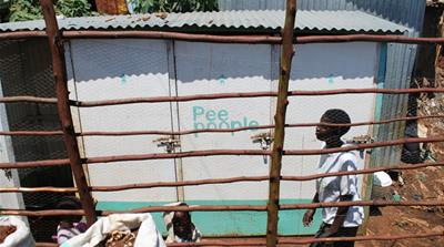 Tackling the 'flying toilets' of Kibera