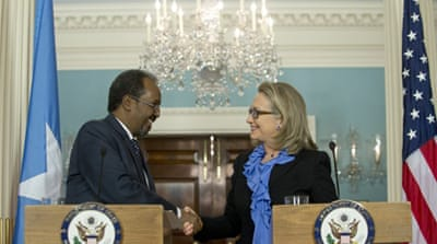 US recognition will help Somalia receive greater assistance from US and international aid agencies [AFP]