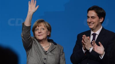 Front-runners emerge in Germany elections