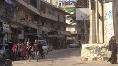 Syrian town takes strife in stride