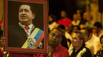 Chavez has not been seen in public since he underwent his fourth cancer operation in December [Reuters]