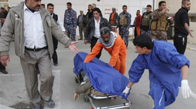 The suicide bombing came in a wave attacks to hit Iraq after a period of relative calm  Reuters]