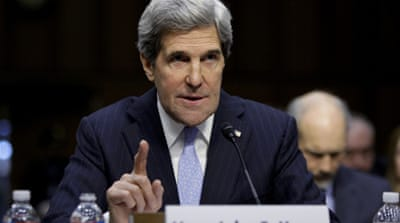 Kerry has long sought the position of secretary of state and has substantial resume as elder statesman[Reuters]