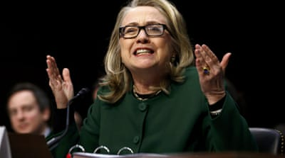 Clinton defends handling of Benghazi attack
