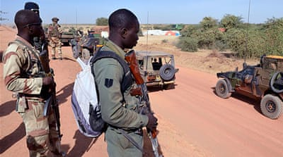 Malian troops have closed off the town of Sevare and have started to move to central towns [AFP]