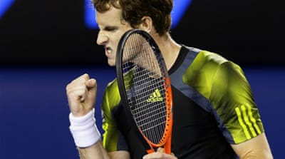 Murray had never beaten Federer in the three times they have played each other at Grand Slams – in the 2008 US Open, 2010 Australian Open and 2012 Wimbledon final [Reuters]
