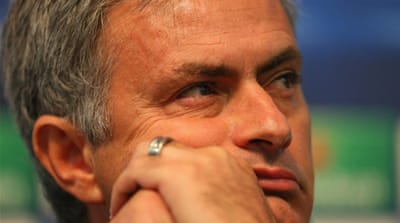 Mourinho has dismissed any chance of defending the Spanish title, and is instead focusing on winning the Champions League and Copa del Rey [AFP]