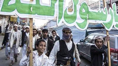 Houthis celebrate birth of Prophet Muhammad