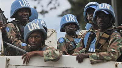 The UN mission in DR Congo is the largest in the world, with a current authorisation for up to 19,800 troops [EPA]