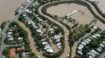 Brisbane was last badly flooded in 2011, when relentless rains led to the death of more than 30 people [EPA]