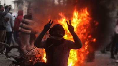 Cairo clashes continue through second day