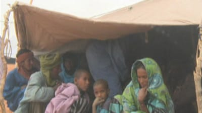 Refugee numbers swell in Mauritania camp