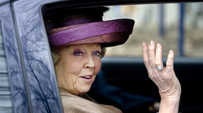 Queen Beatrix assumed the throne on April 30, 1980, after her mother Juliana also abdicated [AFP]