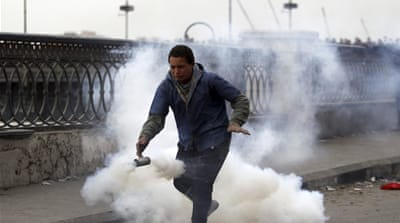 Clashes continue for fifth day in Egypt